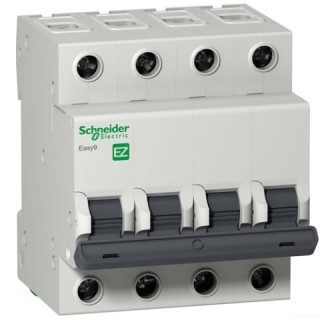 Автоматический выключатель Easy9 4П 25A C 4,5кА 400В Schneider Electric