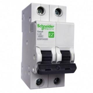 Автоматический выключатель Easy9 2П 20A C 4,5кА 230В Schneider Electric