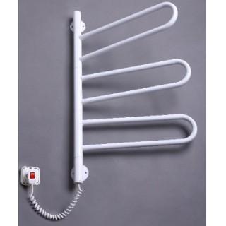 Полотенцесушитель электрический Элна Флюгер-3 поворотный белый