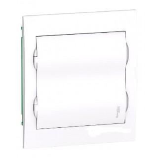 Щит встраиваемый с белой дверцой 2ряд/24мод IP40 63А 2 клеммы, Schneider Electric