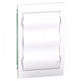 Щит встраиваемый с белой дверцой 3ряд/36мод IP40 80А 2 клеммы, Schneider Electric
