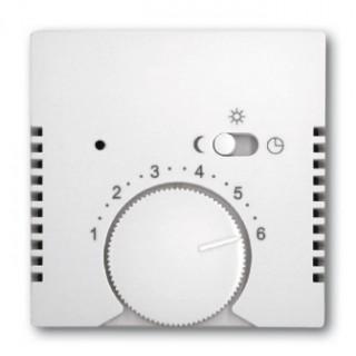 Лицевая панель для термостата ABB basic 1095U, 1096U (белый)