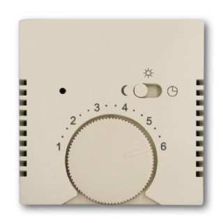 Лицевая панель для термостата ABB basic 1095U, 1096U (сл.кость)