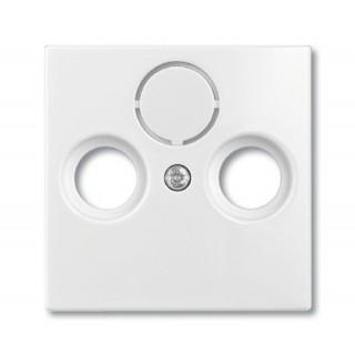 Лицевая панель для телевизионной розетки TV-RD-SAT ABB basic (белый)