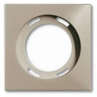 Лицевая панель для световых сигнализаторов скрытой установки ABB basic (шампань)