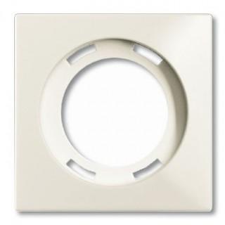 Лицевая панель для световых сигнализаторов скрытой установки ABB basic (шале-белый)