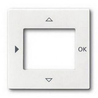 Лицевая панель для таймеров 6455, 6556 и терморегулятора 1098U-101 ABB basic (белый)