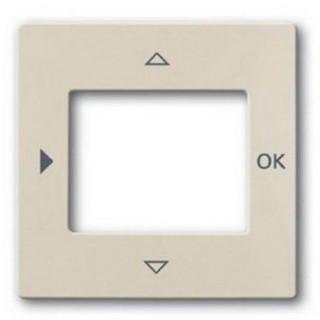 Лицевая панель для таймеров 6455, 6556 и терморегулятора 1098U-101 ABB basic (сл.кость)