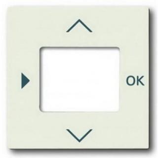 Лицевая панель для таймеров 6455, 6556 и терморегулятора 1098U-101 ABB basic (шале-белый)
