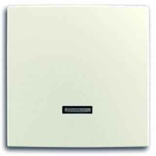 Лицевая панель для светорегуляторов 6524U, 6550U, 6560U, 6593U, 6401U, 6402U ABB basic (шале-белый)