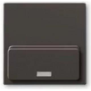 Лицевая панель для Busch-iDock 8218U ABB basic (шато-черный)