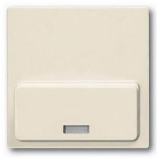 Лицевая панель для Busch-iDock 8218U ABB basic (сл.кость)