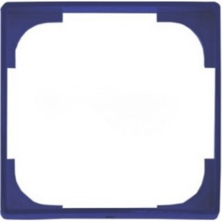 Накладка декоративная ABB Basic 55 (синий/аттика)