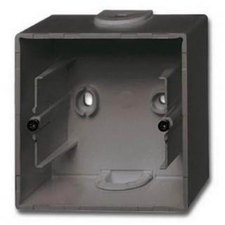 Коробка для накладного монтажа 1 пост ABB Basic шато-черный