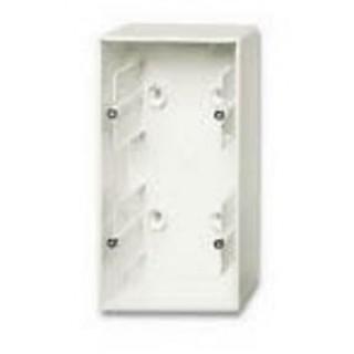 Коробка для накладного монтажа 2 поста ABB Basic шале-белый
