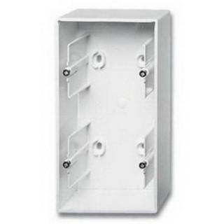 Коробка для накладного монтажа 2 поста ABB Basic белый