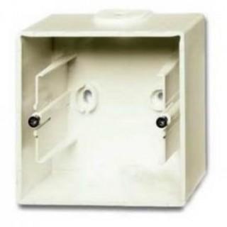 Коробка для накладного монтажа 1 пост ABB Basic шале-белый