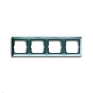 Рамка на 4 поста ABB basic 55 (синий)
