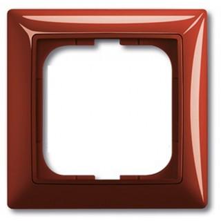 Рамка на 1 пост ABB basic 55 (красный)