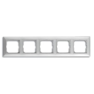 Рамка на 4 поста ABB basic 55 (альпийский белый)