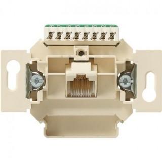 Розетка компьютерная ABB basic 1хRJ-45 UTP CAT5E 8 контактов