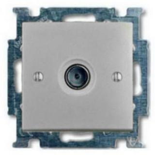Розетка TV простая ABB basic 2400MHz (алюминий)