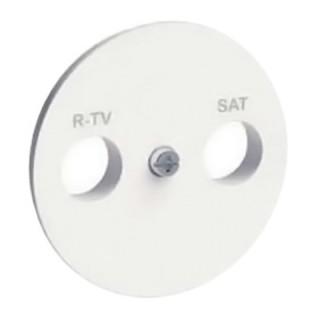 Накладка R-TV/SAT Schneider Odace белая