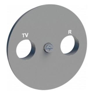 Накладка R-TV/SAT Schneider Odace алюминиевая