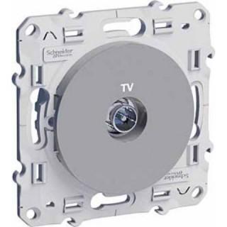 Розетка TV алюминиевая Schneider Odace