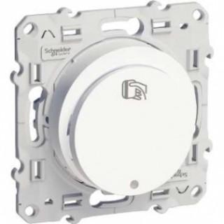 Карточный выключатель Schneider Odace 16 А, 250 В, пружинный зажим, белый