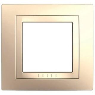 Рамка 1 место Schneider Unica кремовый