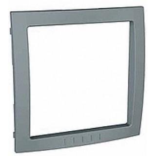 Декоративный элемент для рамок Schneider Unica серый техно