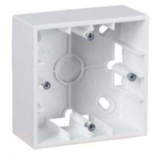 Коробка для наружного монтажа 1 местная Simon 1590751-030 белый