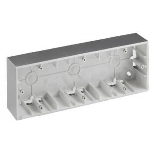 Коробка для наружного монтажа 2 местная Simon 1590752-033 алюминий