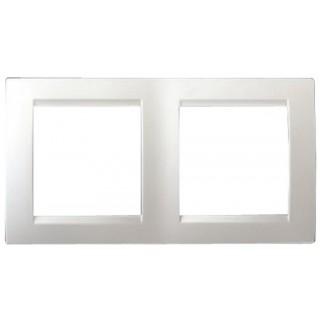 Рамка 2 места Simon 1500620-030 белый