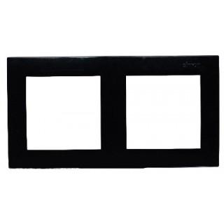 Рамка 2 места Simon 1500620-032 черный