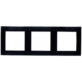 Рамка 3 места Simon 1500630-032 черный