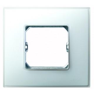 Рамка 1 место Simon 27771-60 белый матовый