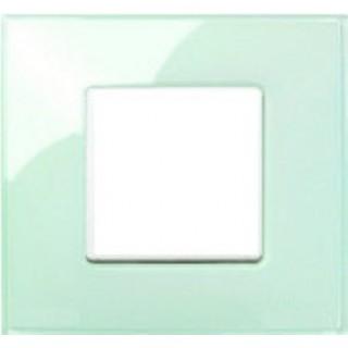 Рамка 1 место Simon 27771-32 салатовый