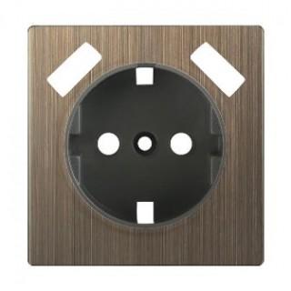 Накладка для USB розетки WL12-USB-CP бронза