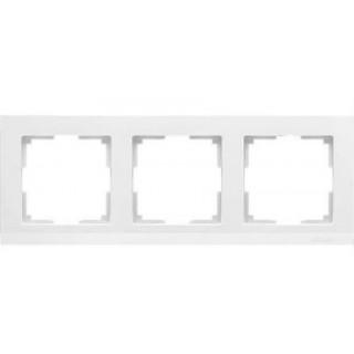 Рамка на 3 поста WL04-Frame-03 белый