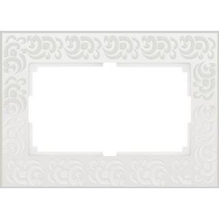 Рамка для двойной розетки WL05-Frame-01-DBL белый
