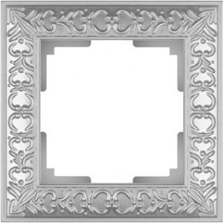 Рамка на 1 пост WL07-Frame-01 жемчужный