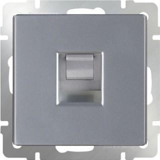 Розетка Ethernet RJ-45 Werkel WL06-RJ-45 серебряный
