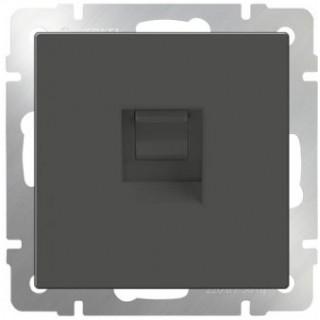 Розетка Ethernet RJ-45 Werkel WL07-RJ-45 серо-коричневый