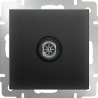 ТВ-розетка оконечная WL08-TV черный матовый