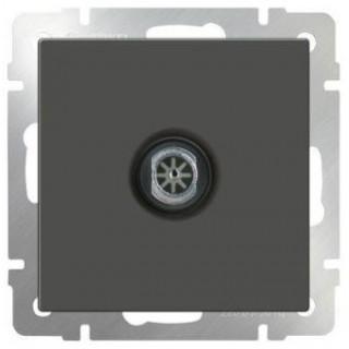 ТВ-розетка оконечная WL07-TV серо-коричневый