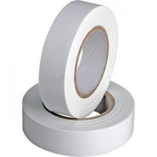 Изолента ПВХ 0,18х19ммХ20м, белая