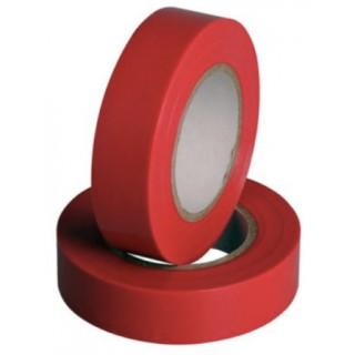 Изолента ПВХ 0,18х19ммХ20м, красная