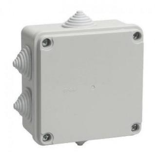Коробка распределительная наружной установки 100х100х70мм, IP54